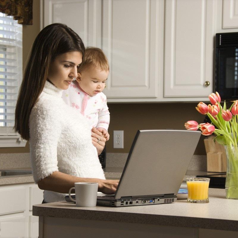 Как заработать маме в декрете elunie